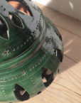 detall fanalet verd gran