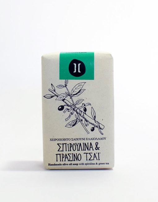 helleo spirulina and green tea