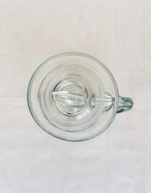 setrillerara mallorquina de vidre bufat transparent gordiola | Bon Vent
