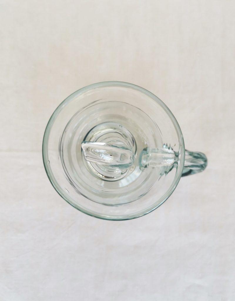 setrillerara mallorquina de vidre bufat transparent gordiola   Bon Vent