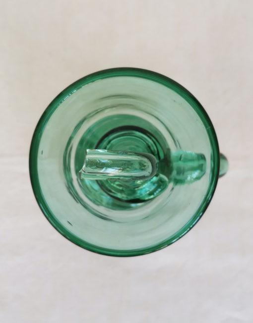 Setrillera mallorquina de vidre bufat verda fet a ma | Bon Vent