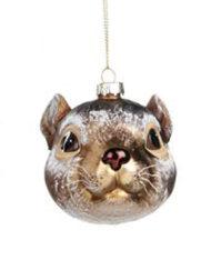 ratón Bola vidrio vintage árbol de navidad