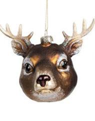 reno Bola vidrio vintage árbol de navidad
