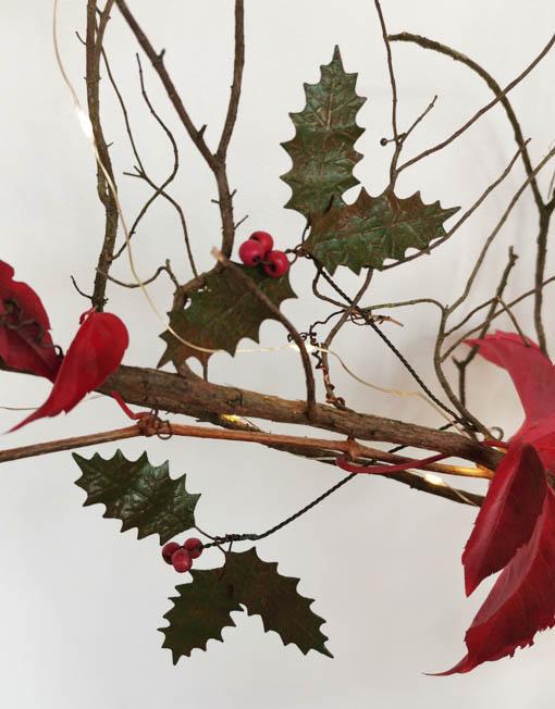 acebo árbol de navidad