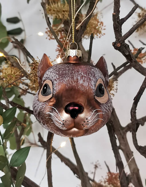 bola ratón árbol de navidad