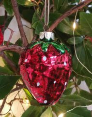 fresa vidrio elemento decorativo árbol de navidad