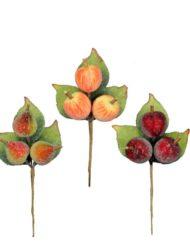 Decoració Nadal fruites