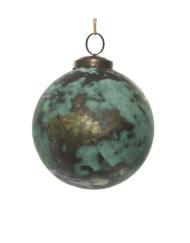 bola óxido verde cobre de vidrio