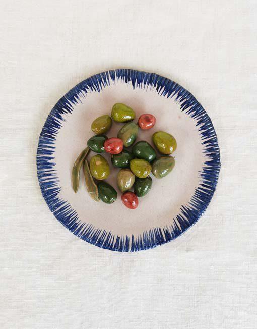 Plat d'olives the exvotos